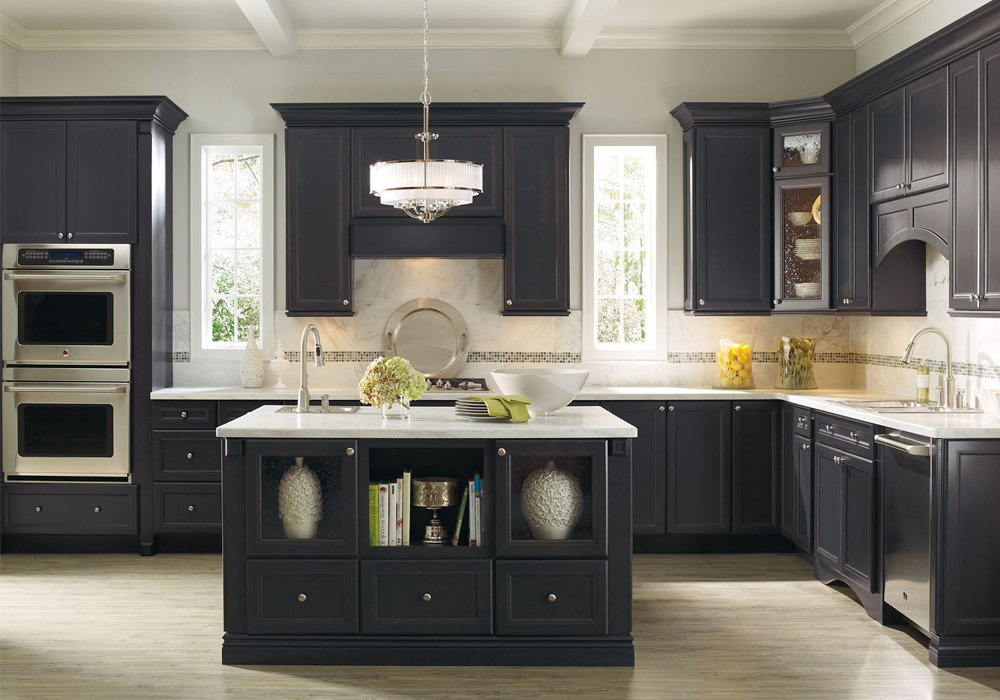 Miraculous Blue Color Design Idea Solid Wood Kitchen Cabinets Swk 077 Home Interior And Landscaping Eliaenasavecom