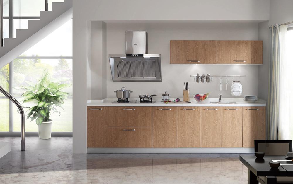 Project Use Melamine Mini Size Kitchen Cabinets MK 018 ...