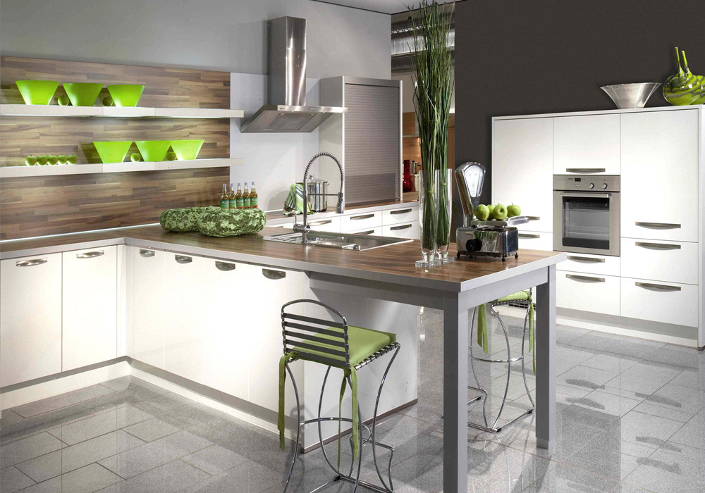 Modern White Lacquer Kitchen Cabinets - The Best Home Design