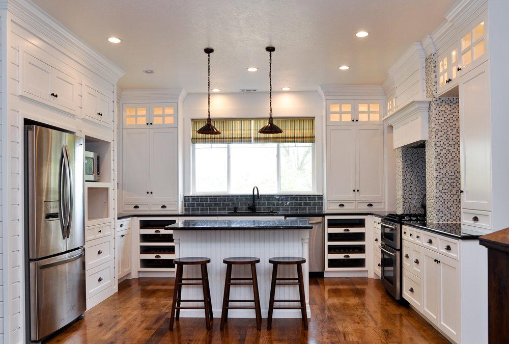 Solid Birch Wood Shaker Door Style Kitchen Cabinets