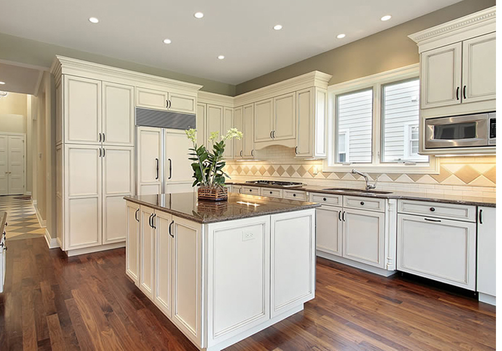 French Style White Color Solid Birch Wood Kitchen Cabinets Swk 024 Houlive Solid Wood Kitchen Cabinets