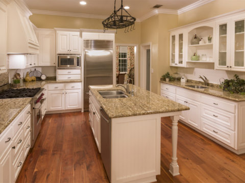 American Standard Solid Wood Raised Door Kitchen Cabinets Swk 078
