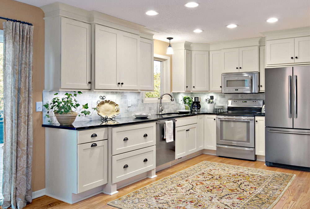 Solid Wood White Shaker Small Kitchen Cabinets Swk 060 Houlive