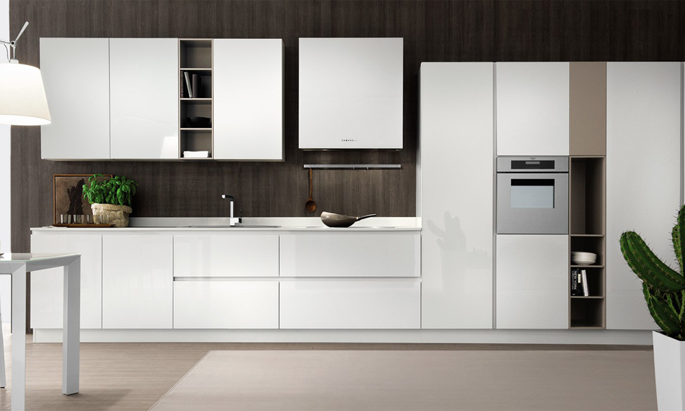 Houlive Solid Wood Kitchen Cabinets
