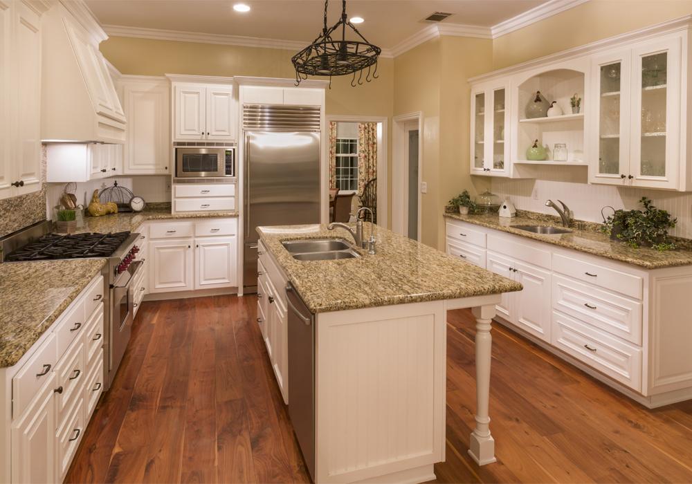 American Standard Solid Wood Raised Door Kitchen Cabinets ...